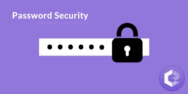 password security with lock